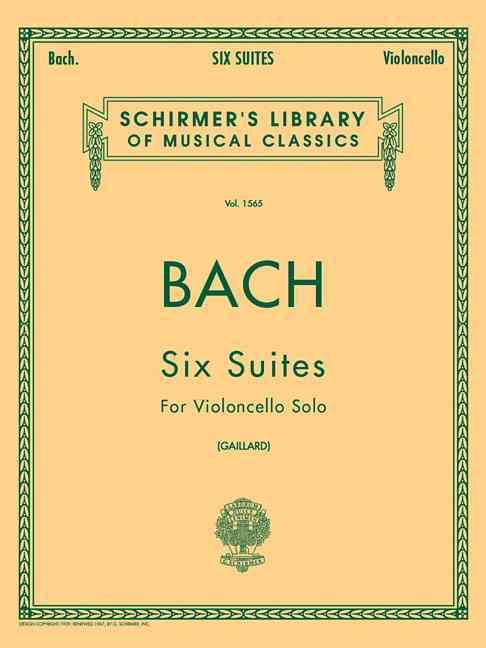 6 Suites By Bach, Johann Sebastian (COP)/ Gaillard, F. (CRT)