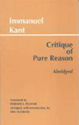 Critique of Pure Reason By Kant, Immanuel/ Watkins, Eric (EDT)/ Pluhar, Werner S. (TRN)